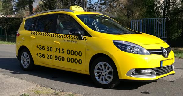Zamárdi taxi Renault